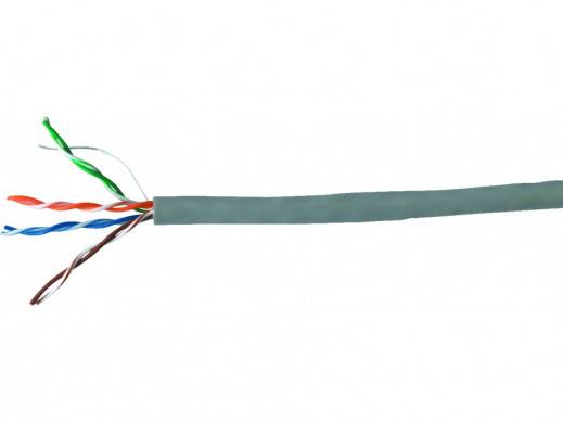 Kabel komputerowy skrętka UTP KAT5 4x2/0.5CCA