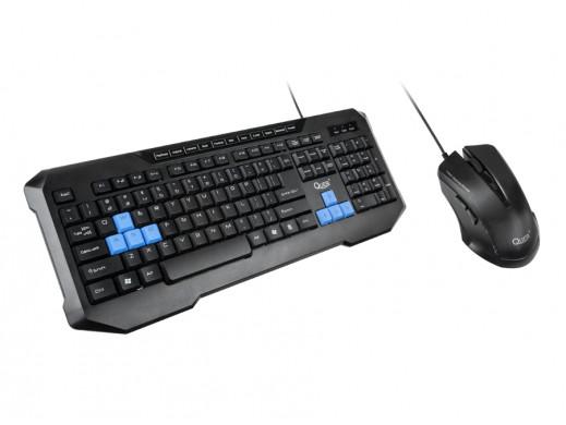 Zestaw klawiatura i mysz laserowa Gamer Quer