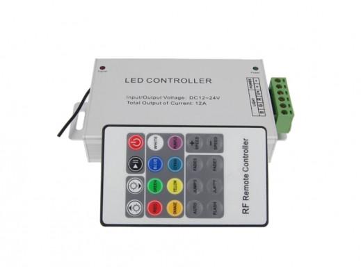 Sterownik LED RGB z pilotem 20 funkcji 12A