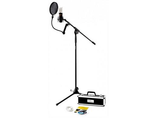 Mikrofon studyjny t.bone SC450 USB ze statywem i osłoną