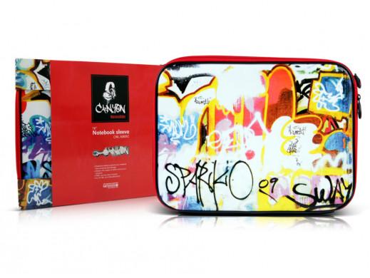 "Pokrowiec na notebooka 16"" NB05C Canyon Grafitti"