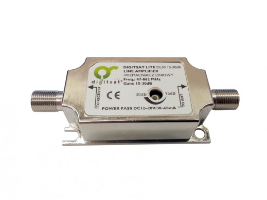 Wzmacniacz DVB-T DL30 15-30dB Digitsat