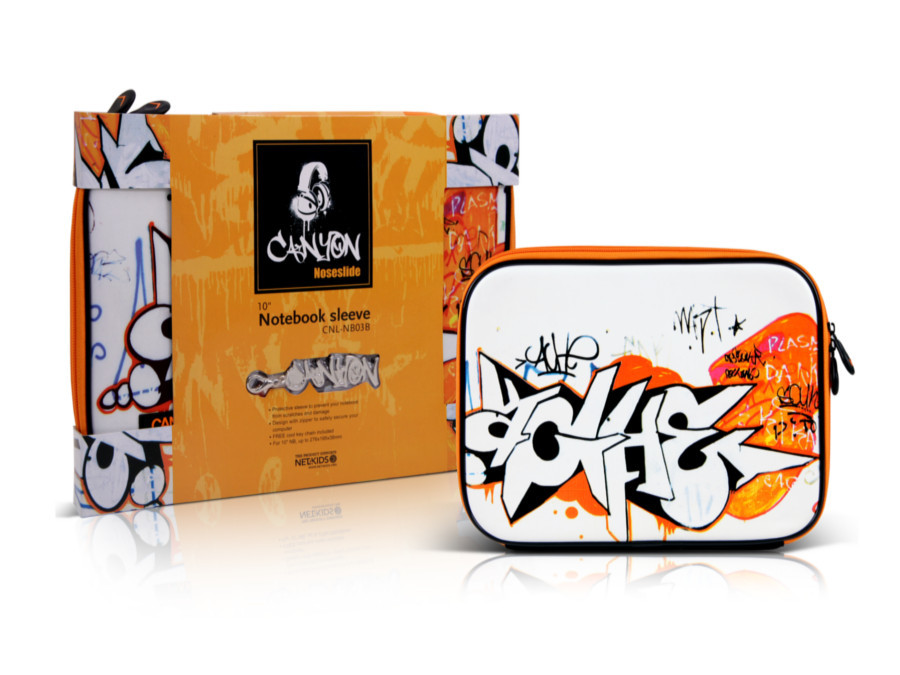 "Pokrowiec na notebooka 10"" NB03B Canyon Graffitti"