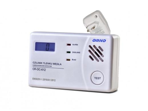 Czujnik tlenku wegla czadu LCD OR-DC-612 Orno