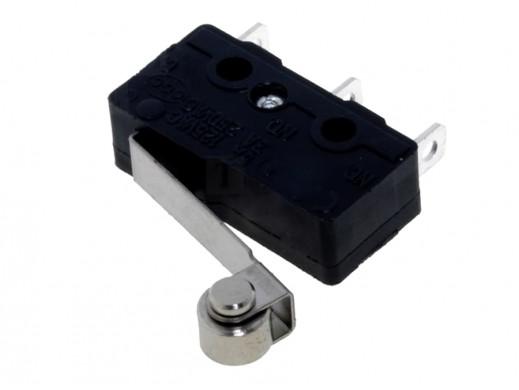 Wyłącznik krańcowy 20mm SS0505A z kółkiem 5A 250V