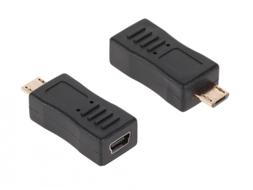 Adapter gniazdo mini USB...