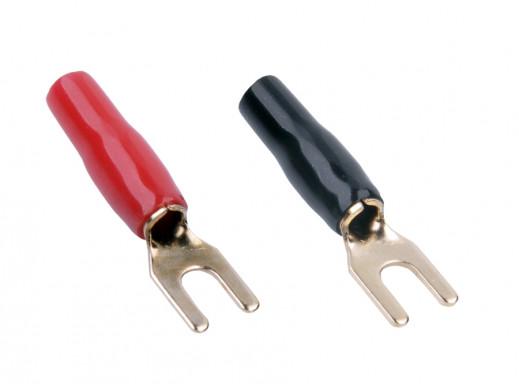 Konektor 4.3mm/12GA na kable 4 widełki KW59