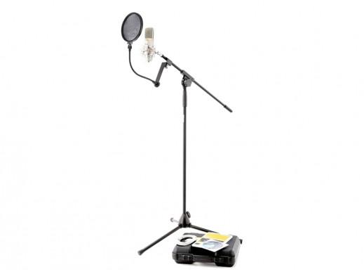 Mikrofon the t.bone SC 440 USB z statywem i osłoną