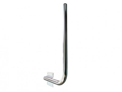 Maszt anteny sat 25cm długość 75cm prawy