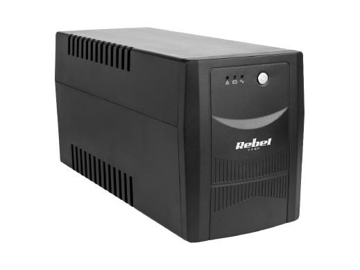 UPS REBEL model Micropower 2000 (offline, 2000 VA / 1200 W, 230 V, 50 Hz)