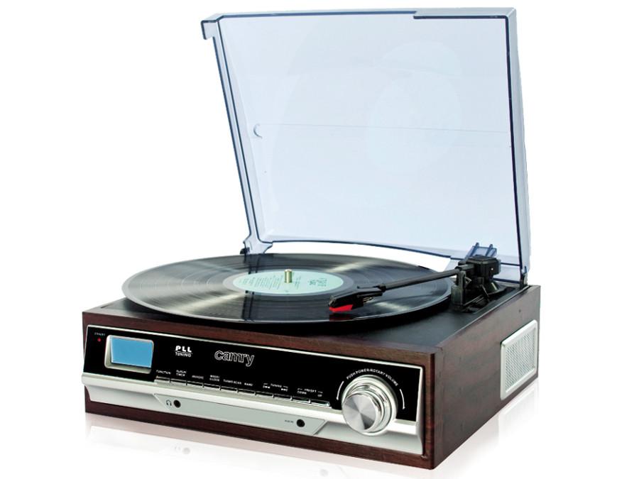 Gramofon z radiem FM CR1113 Camry