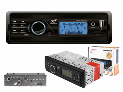 Radioodtwarzacz samochodowy SD/MP3 MVX1000UB LTC