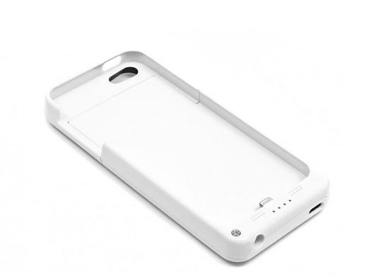 Bateria zewnętrzna do Apple iPhone 5/5S biała