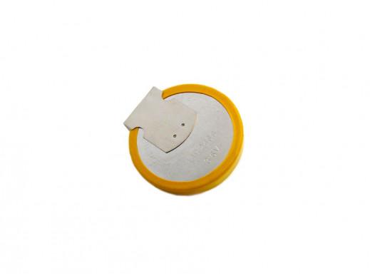 Akumulator LIR2466 3,6V 150mAh 25,5x6,6 do lutowania 2 pin