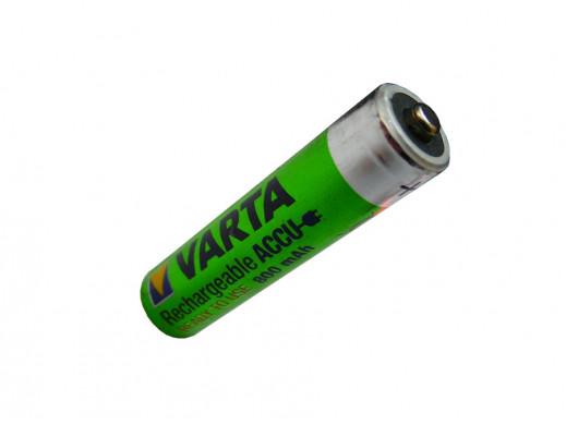 Akumulatorek AAA 800mAh Varta