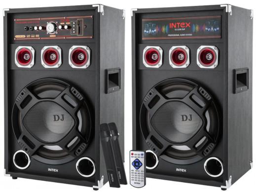Kolumny głośnikowe aktywne DJ-220K SUF INTEX