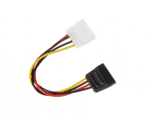 Kabel adapter zasilania Molex SATA 15cm Maclean MCTV-633