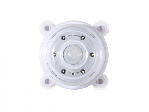 Lampa LED z sensorem ruchu...