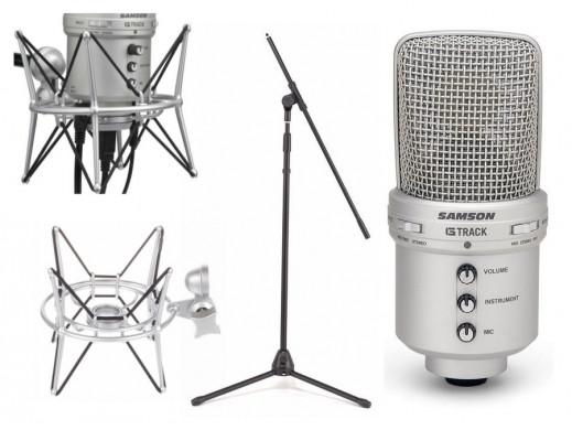 Mikrofon pojemnościowy Samson G-Track Zestaw