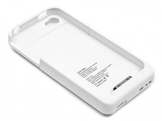 Bateria zewnętrzna do Apple iPhone 4/4S biała