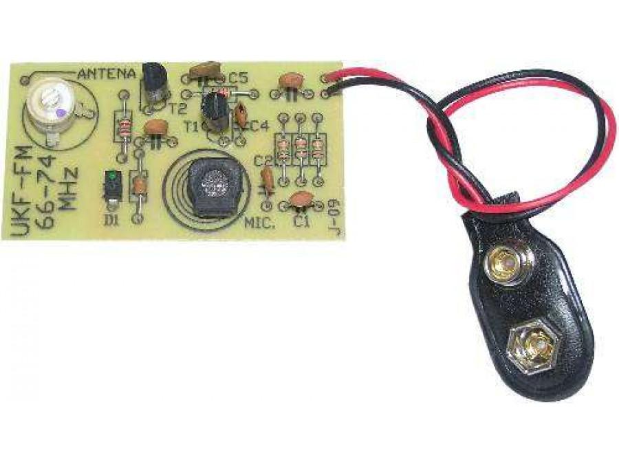 J-09 Mikrofon bezprzewodowy UKF (mikroszpieg)
