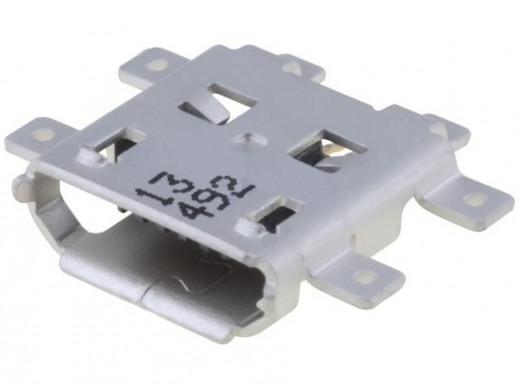 Gniazdo micro USB do druku smd