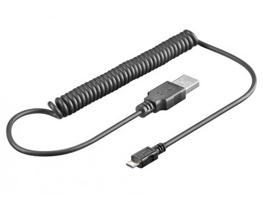 Przewód USB-microUSB 1m...
