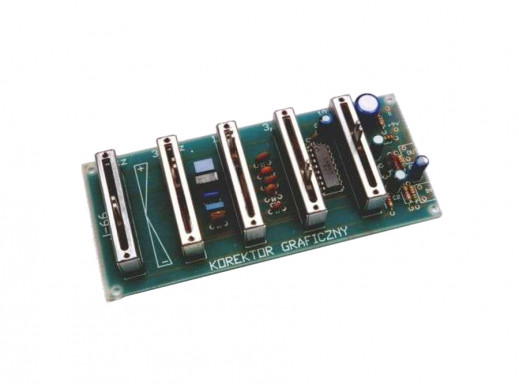 J-66 5-pasmowy korektor graficzny (eqalizer)