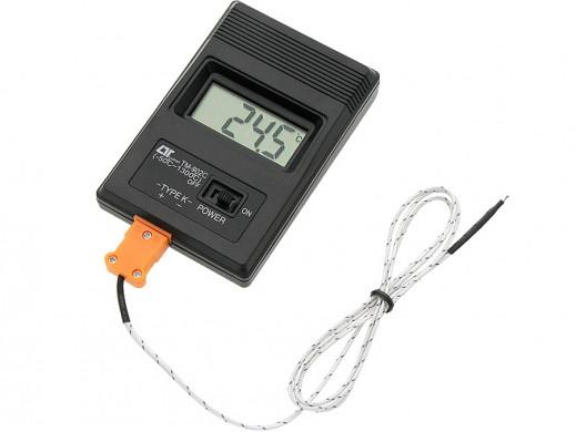 Termometr miernik temperatury z sondą