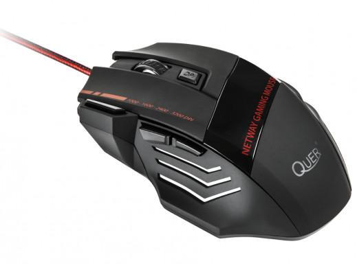 Myszka optyczna M02 Gamer Quer przewodowa