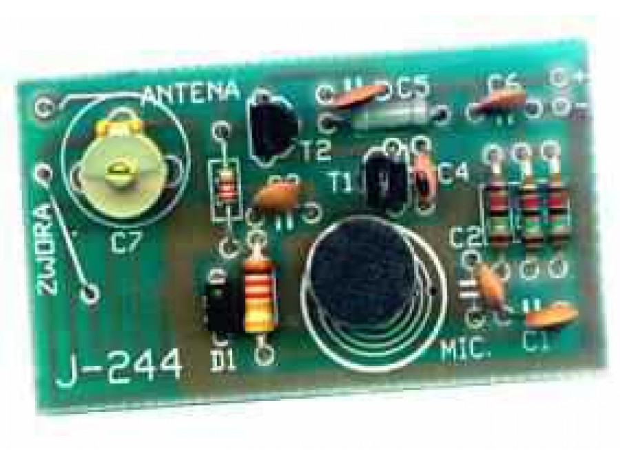 J-244 Mikrofon bezprzewodowy UKF na pasmo 88-108MHz