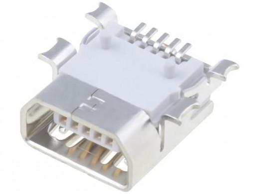 Gniazdo mini USB typ AB...