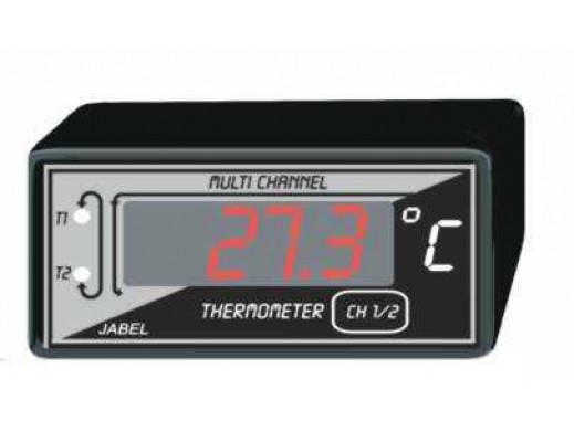J-263 Termometr dwukanałowy