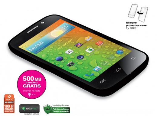 Smartphone TRACER OXYGEN GS3+500MB na internet