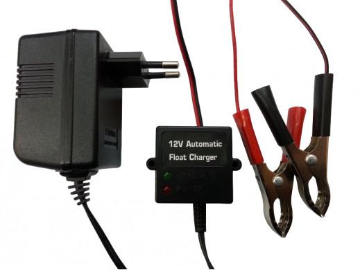 Ładowarka do akumulatorów żelowych 12V 500mA