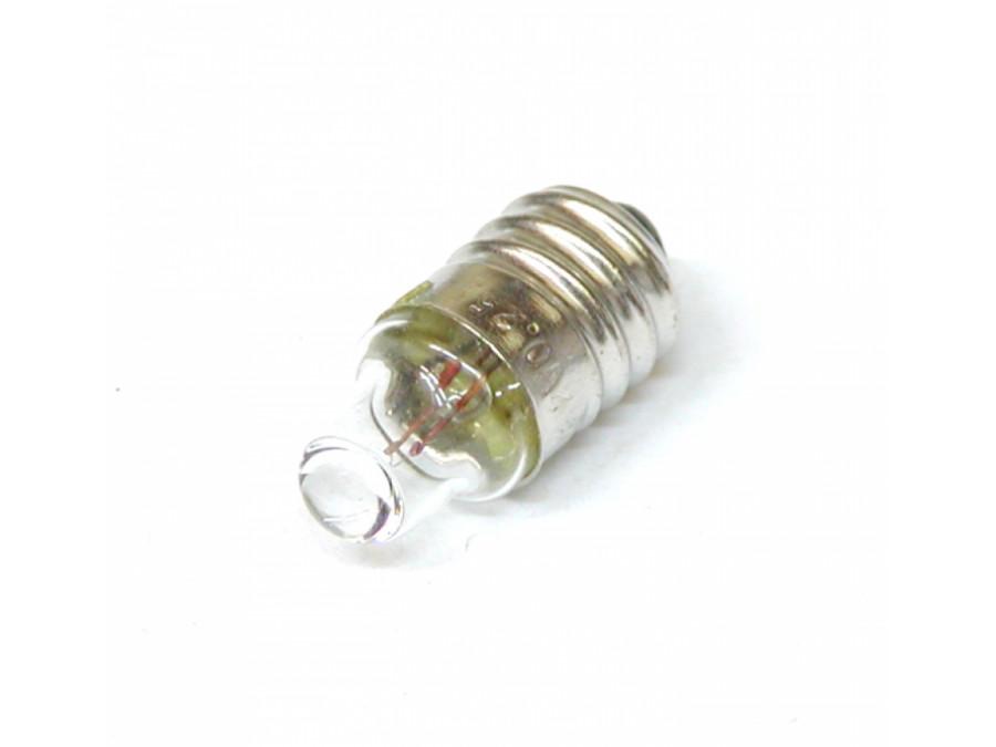 Żarówka bateryjna E10 2,2V soczewka z gwintem