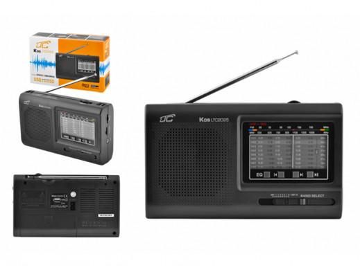Przenośne radio z odtwarzaczem MP3 USB microSD LTC