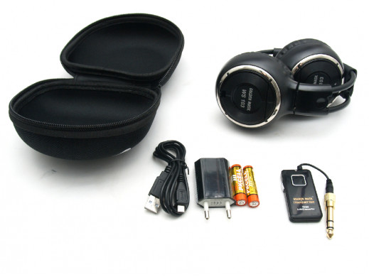 Słuchawki nagłowne WS103 Golden Mask bezprzewodowe