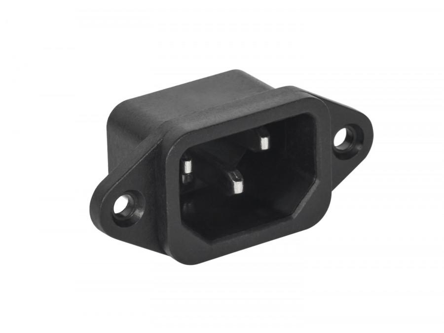 Wtyk AC WTY0122 3PIN montażowy