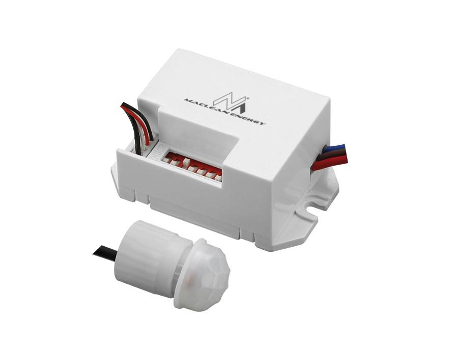 Czujnik ruchu pir z zewnetrznym sensorem 800W 360°  Maclean Energy MCE32