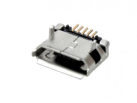 Gniazdo micro USB - SMD