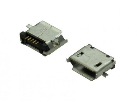 Gniazdo micro USB B poziome...