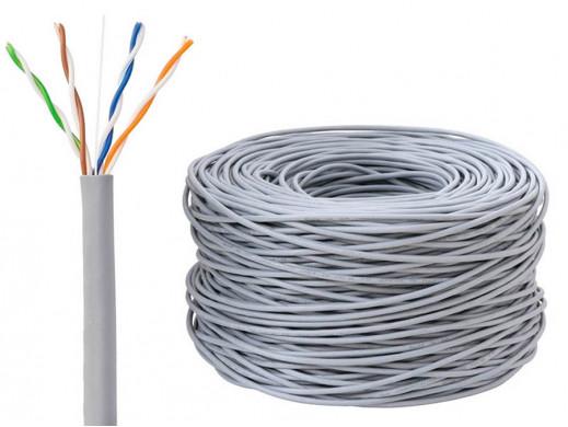 Kabel 4x2 UTP Kat.5e Cu drut 305m CERTYF