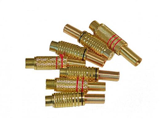 Gniazdo cinch gold 6,7mm na...