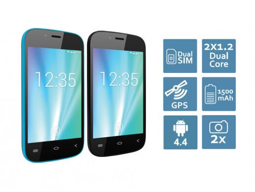 "Smartfon 3.5"" OV-Vertis 3510 YOU Overmax czarny"