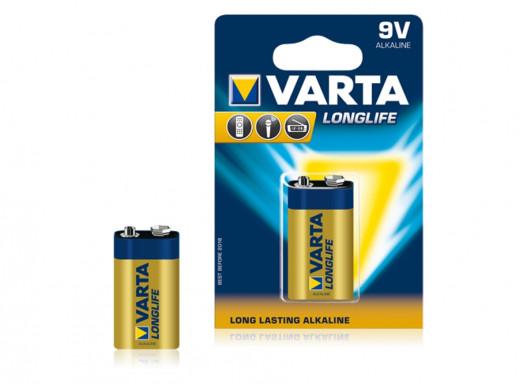 Bateria alkaliczna 9V Longlife Varta