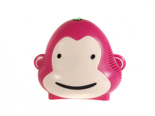 Inhalator Monkey Milo Omnibus różowy