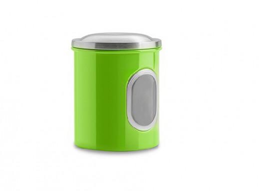 Pojemnik metalowy mały Coliber Florina zielony