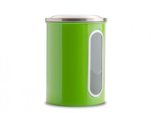 Pojemnik metalowy duży Coliber Florina zielony