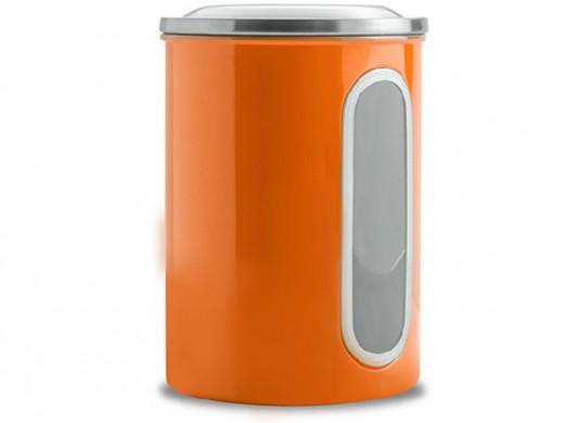 Pojemnik metalowy duży Coliber Florina pomarańczow